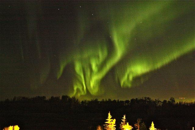 October 2012 Aurora Over Edmonton, AB, Canada #2
