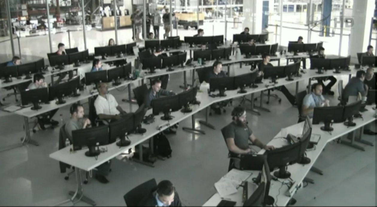 SpaceX Mission Control: Dragon's ISS Approach