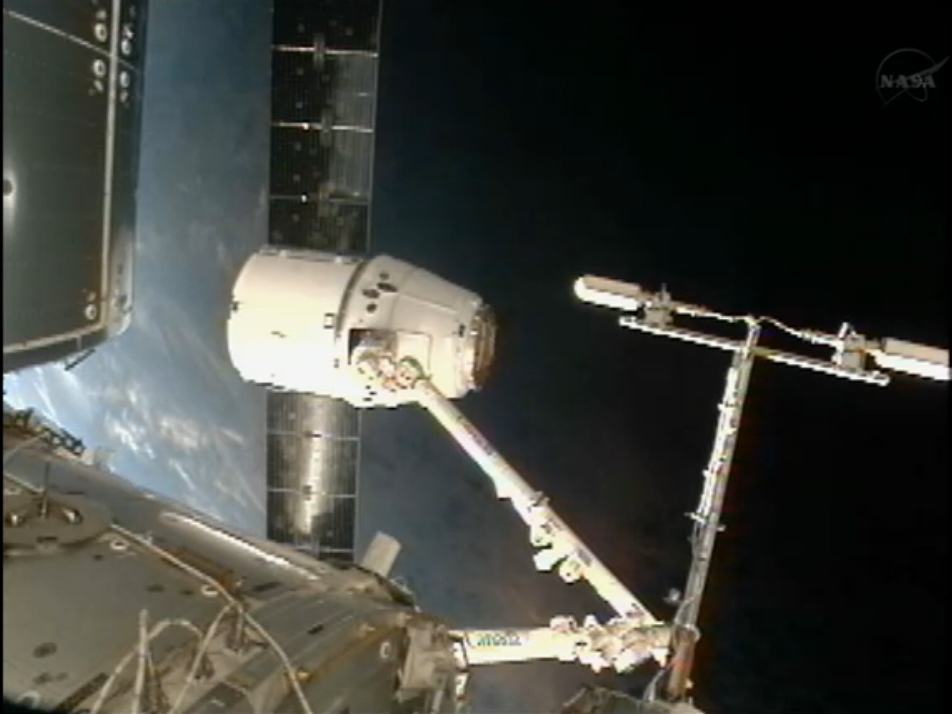 Dragon in Blue: Space Station Capture