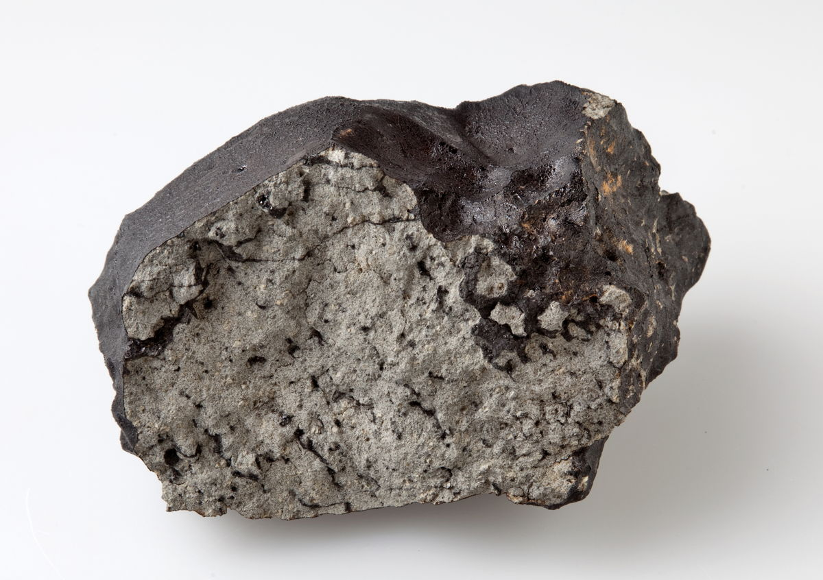 Black Glass in New Martian Meteorite