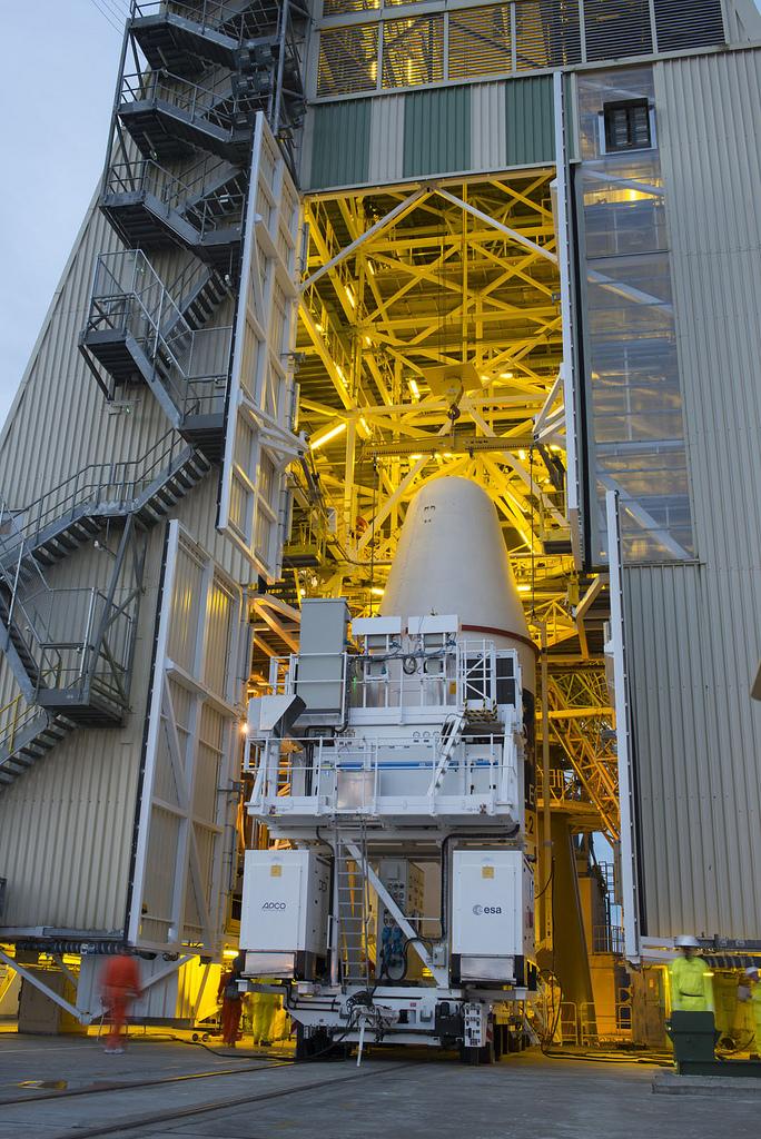 Soyuz VS03 Upper Composite Transfer