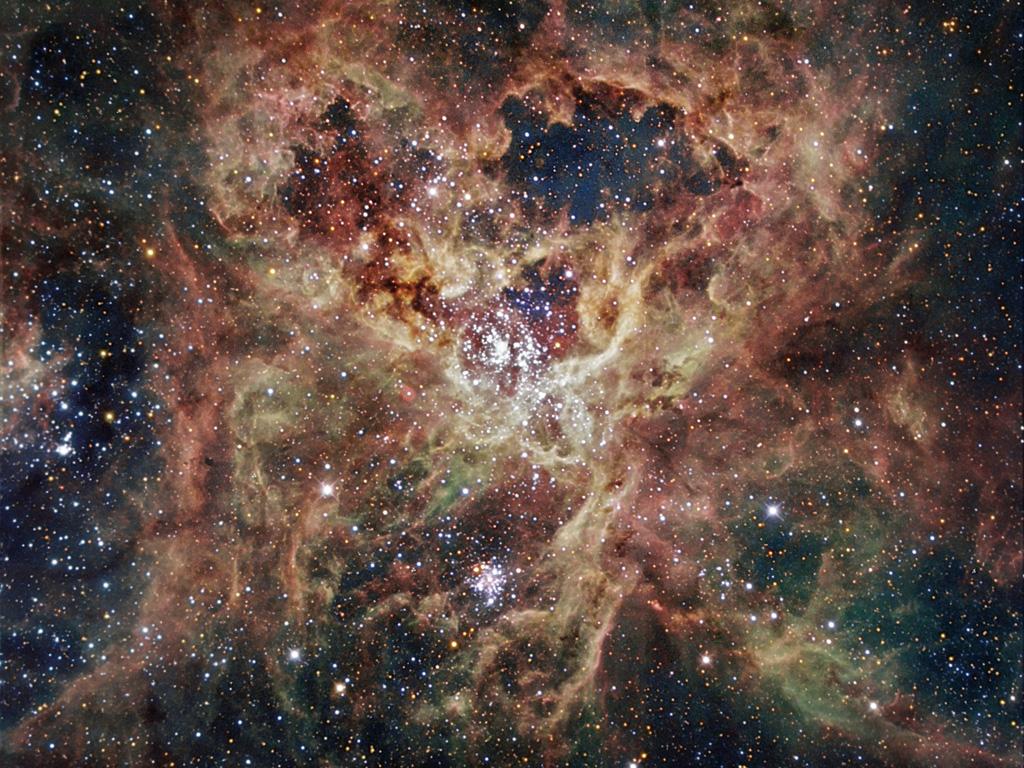 Tarantula Nebula 1000