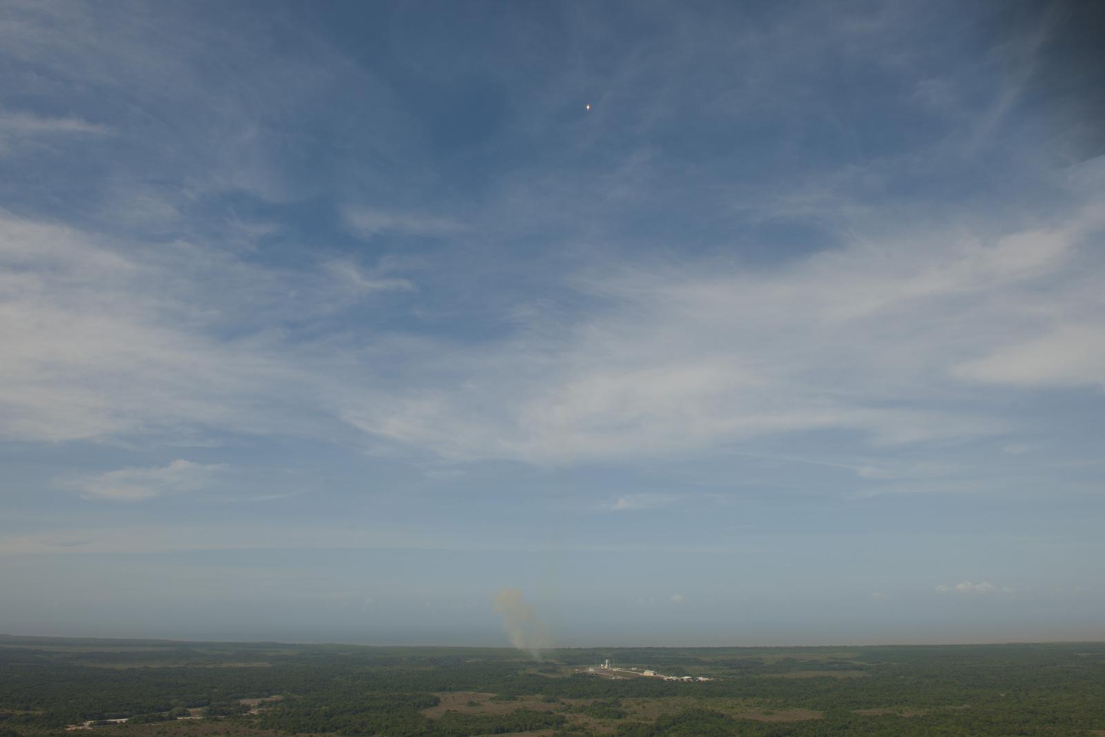 Soyuz Rocket Launches Galileo Satellites: Ascent