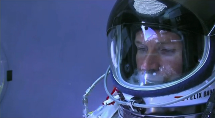 Daredevil Felix Baumgartner: Introspection