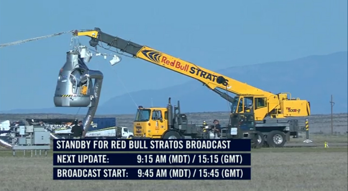 Red Bull Stratos: World's Highest Skydive