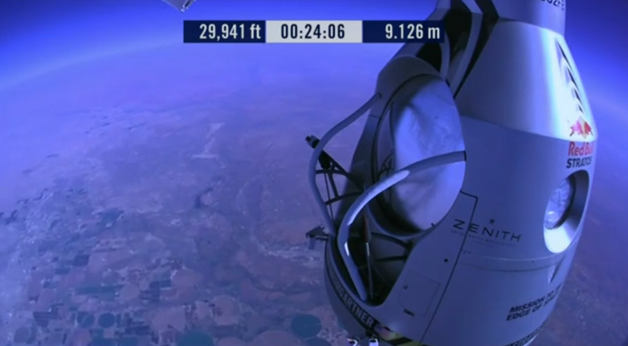 Red Bull Stratos Capsule