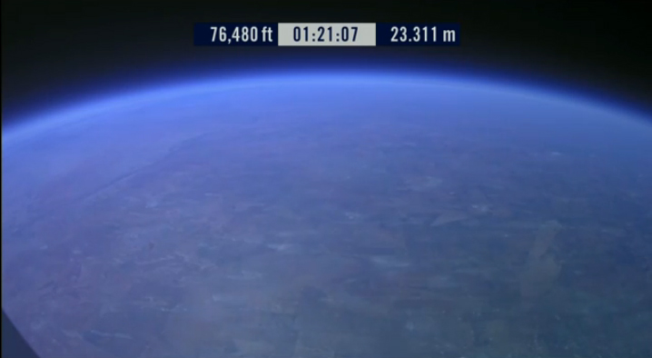Red Bull Stratos: Earth View