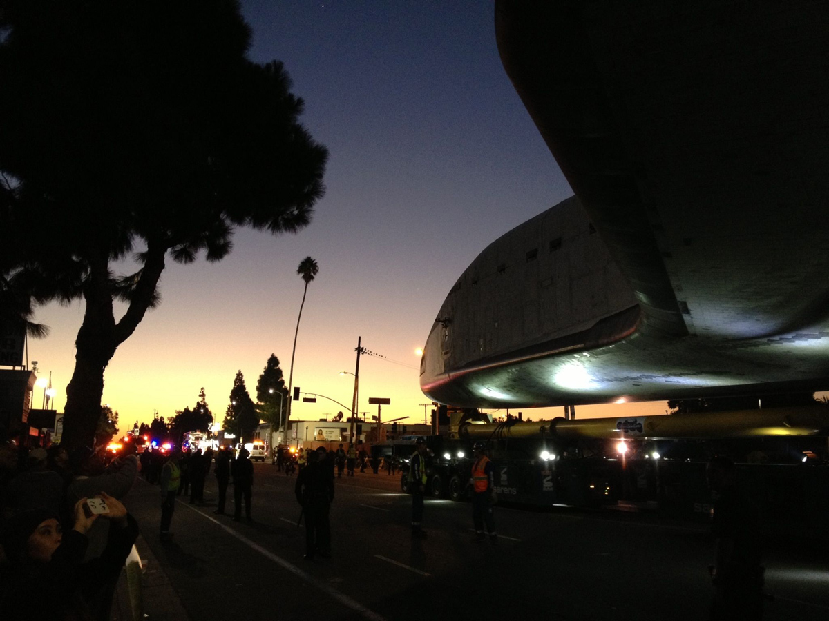 Endeavour at Arlington St. in the Sunrise