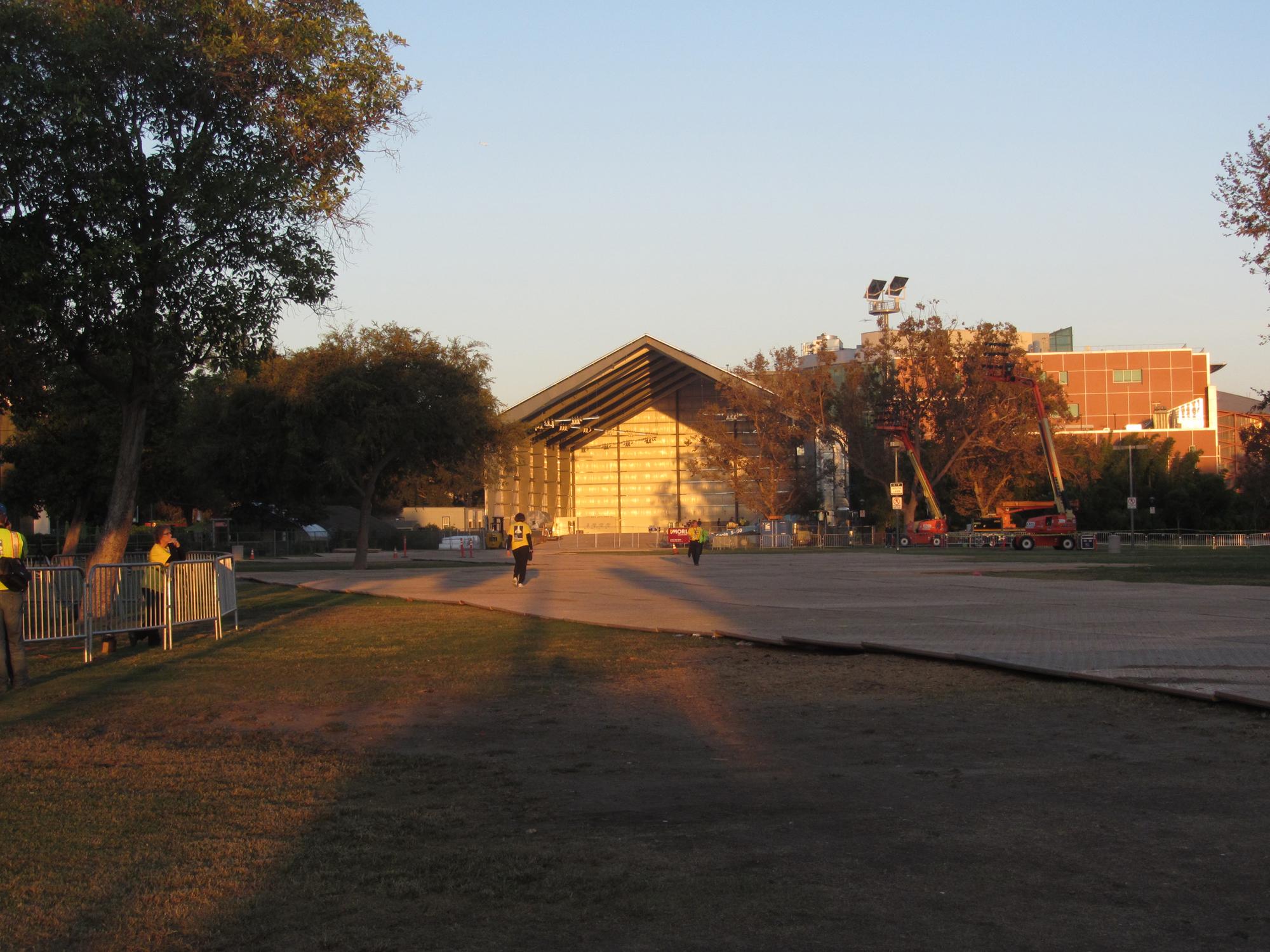 Shuttle Endeavour's Museum Hangar