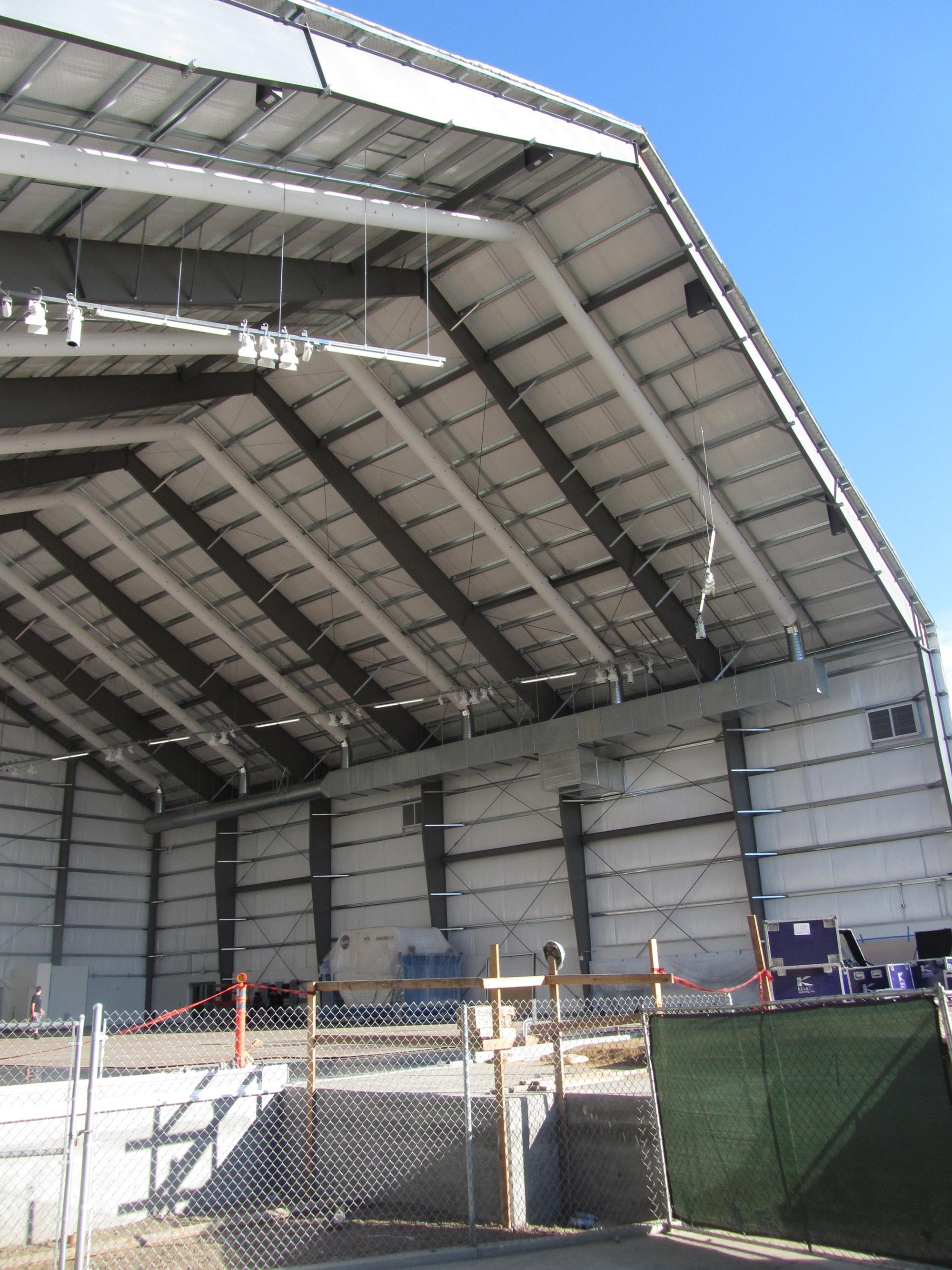 A Look Inside Shuttle Endeavour's Museum Hangar
