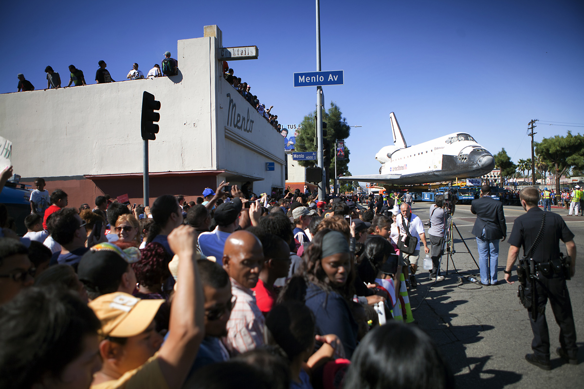 Endeavour on Martin Luther King Jr. Blvd.