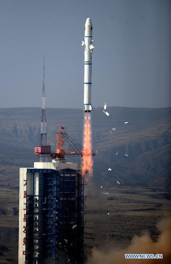 China Launches Two Demonstration Satellites to Space