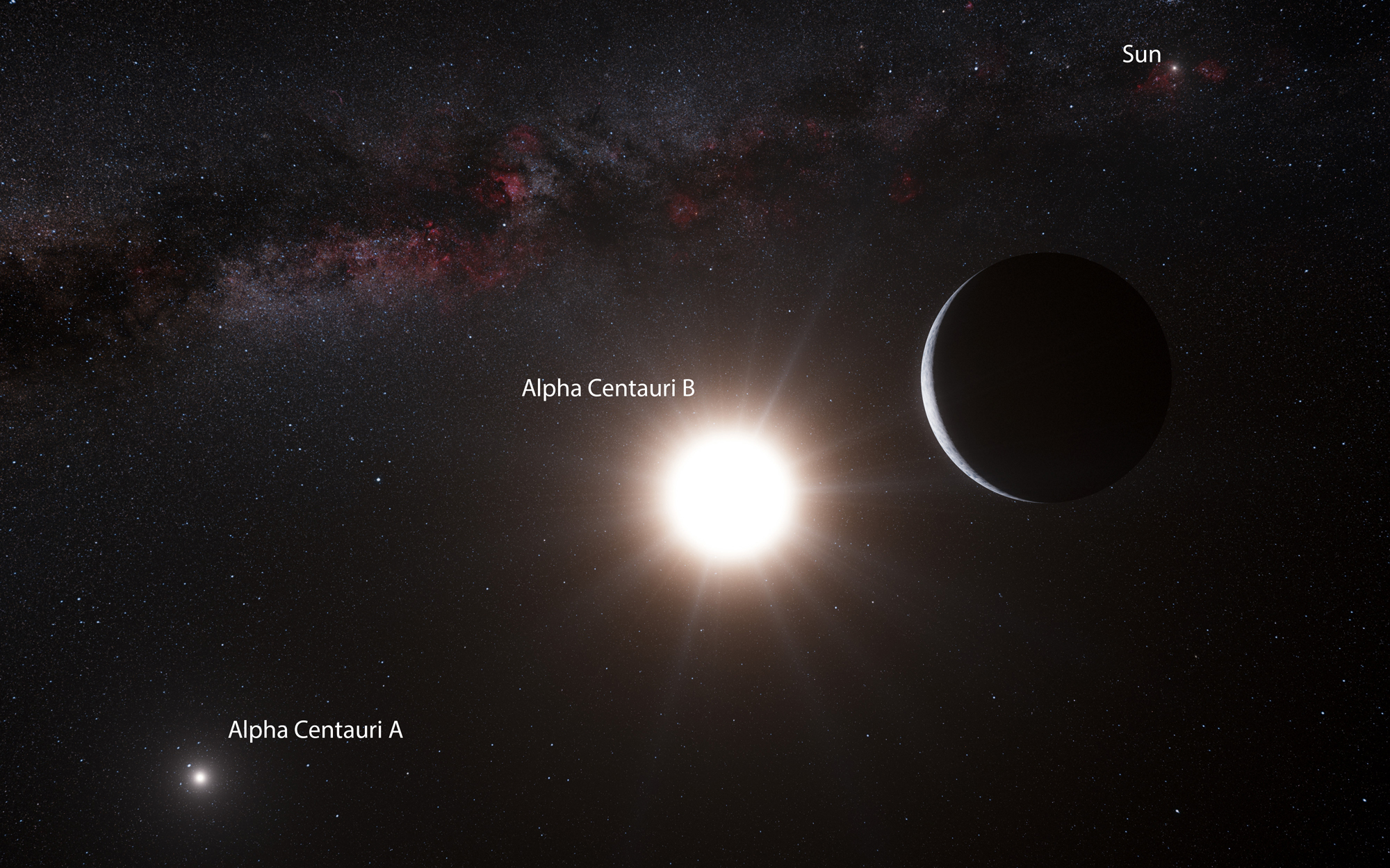 Alien Planet Around Alpha Centauri B