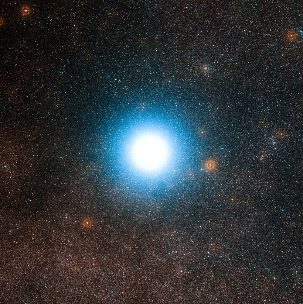 Rigel Kentaurus (Alpha Centauri): Third-Brightest Star