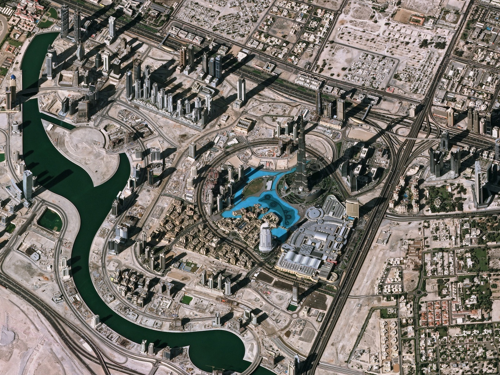 Earth from Space: Downtown Dubai