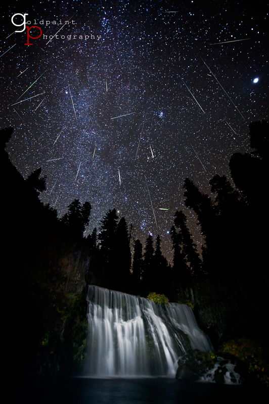 Orionid Meteor Shower Spawned by Halley's Comet Peaks This Weekend