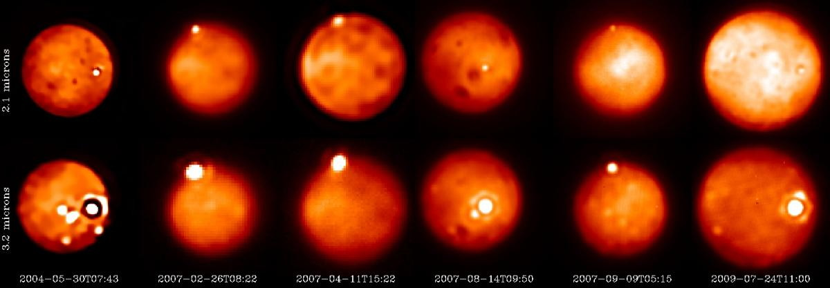 Bright & Young Eruptions on Io