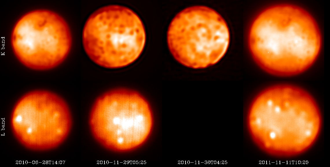 Quiescent Activity of Io 2010 & 2011