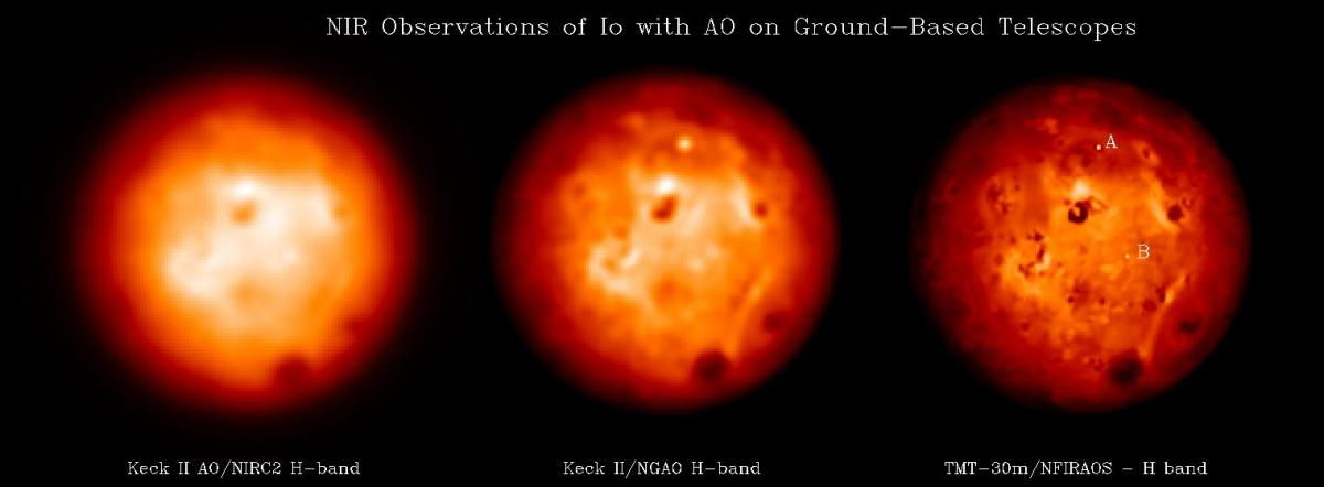 Simulation of Observations of Io