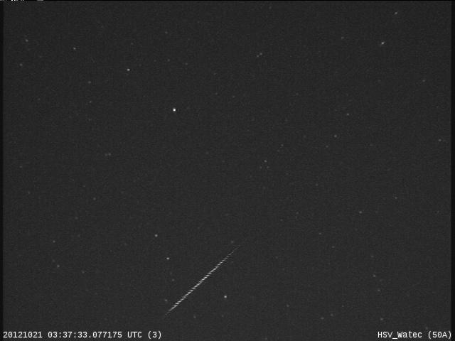 Orionid Meteor Shower 2012: Marshall Space Flight Center 2