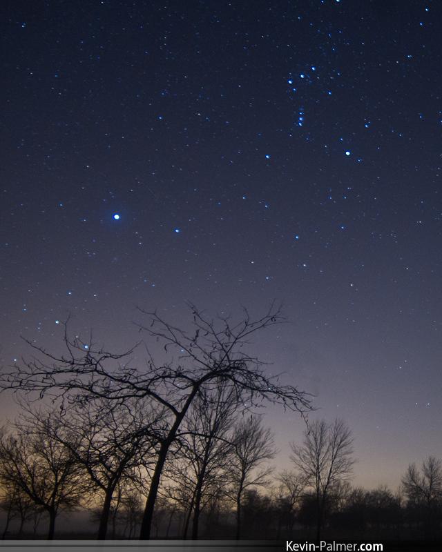 Orionid Meteor Shower 2012: Kevin Palmer