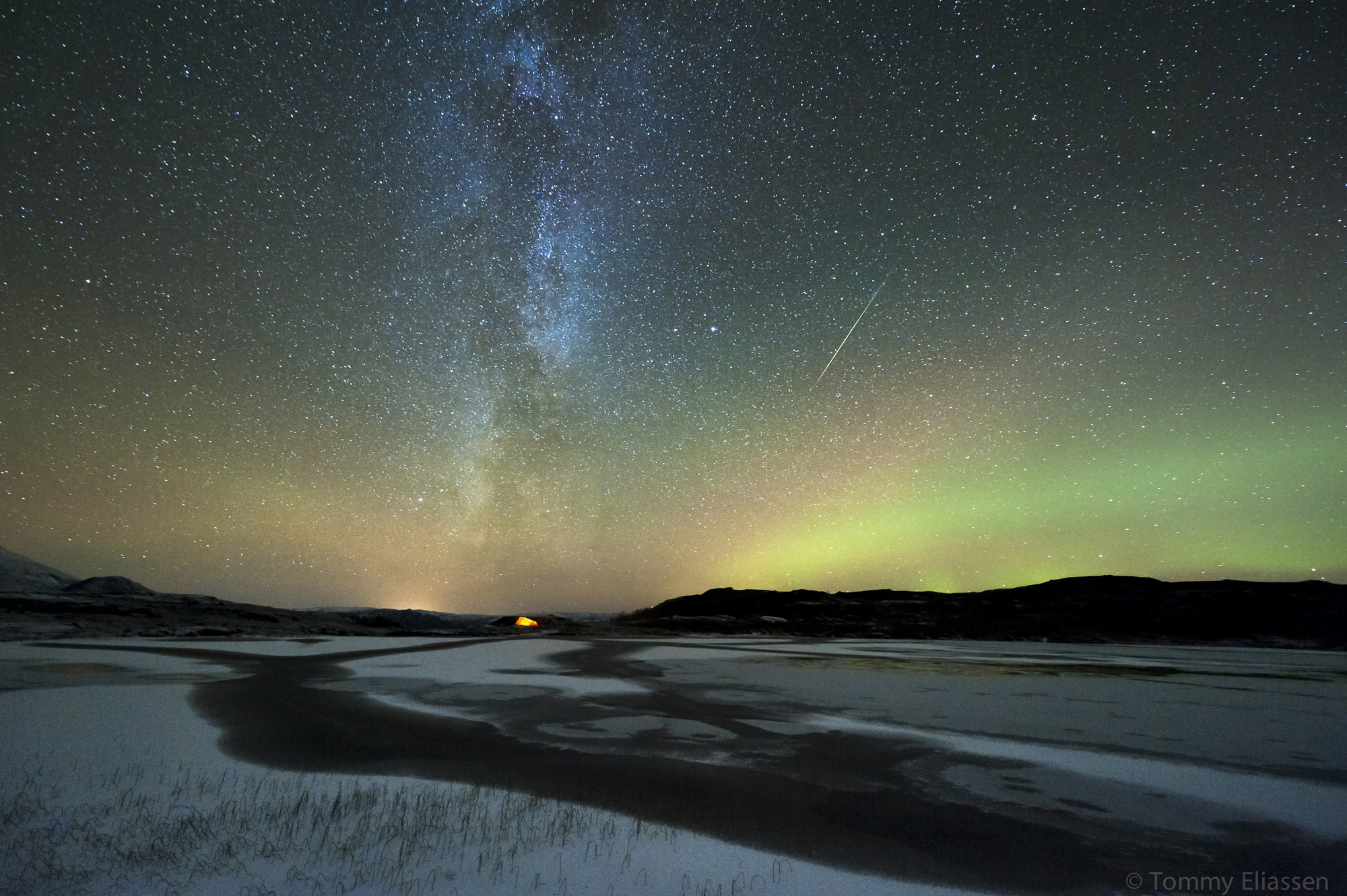Orionid Meteor Shower 2012: Auroras by Tommy Eliassen