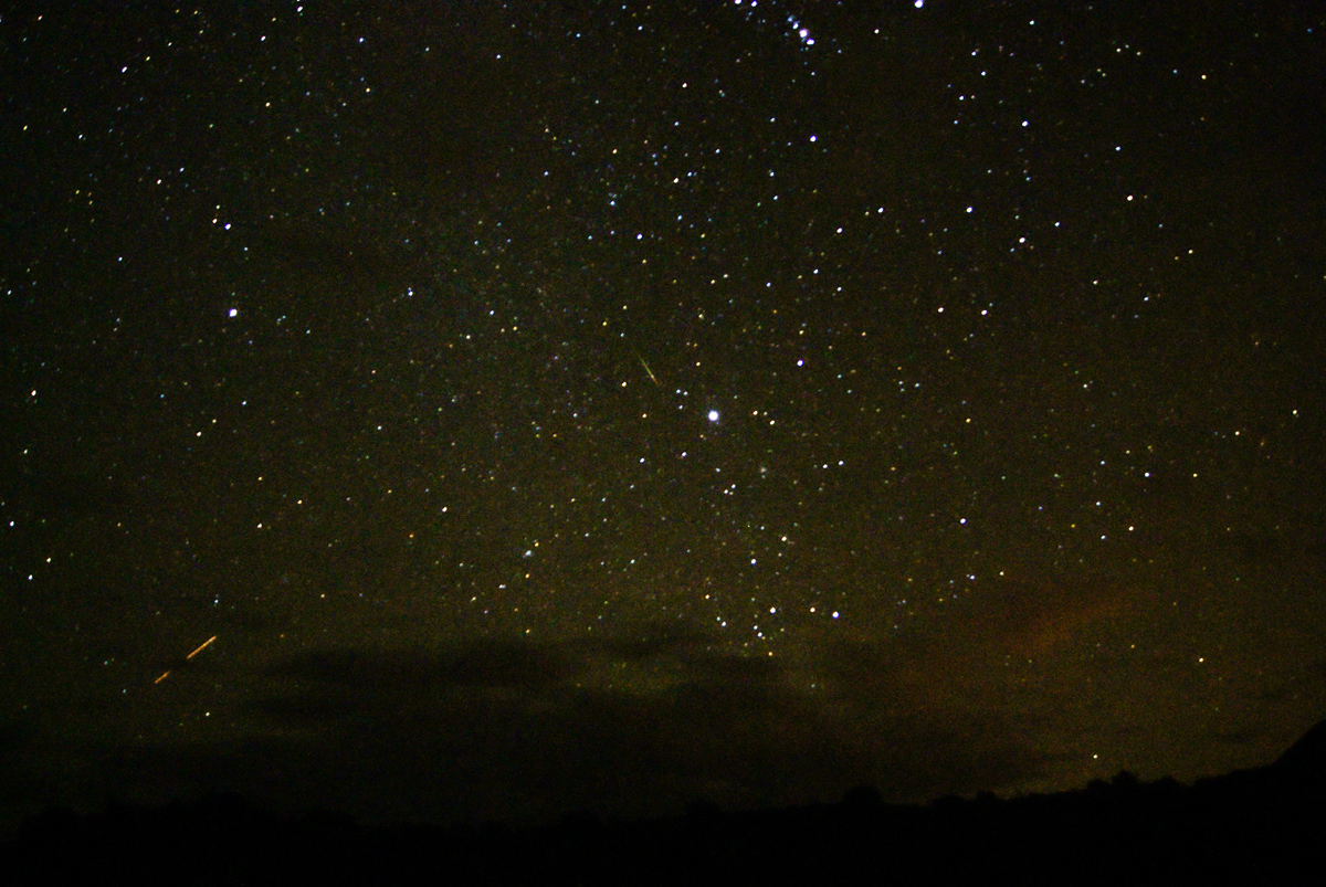 2012 Orionid Meteor Shower Near Phoenix, AZ