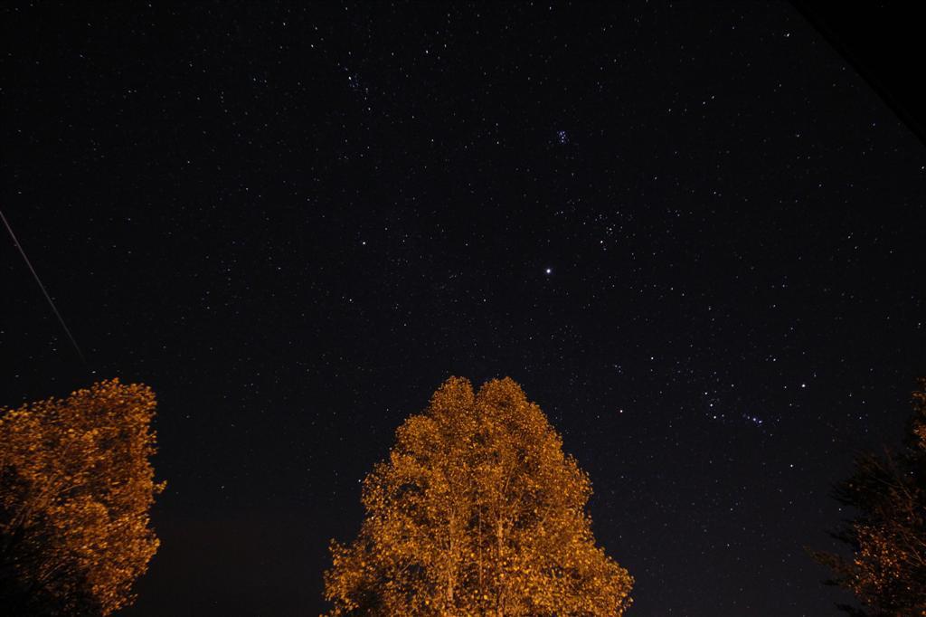 2012 Orionid Meteor Over Blairsville, GA
