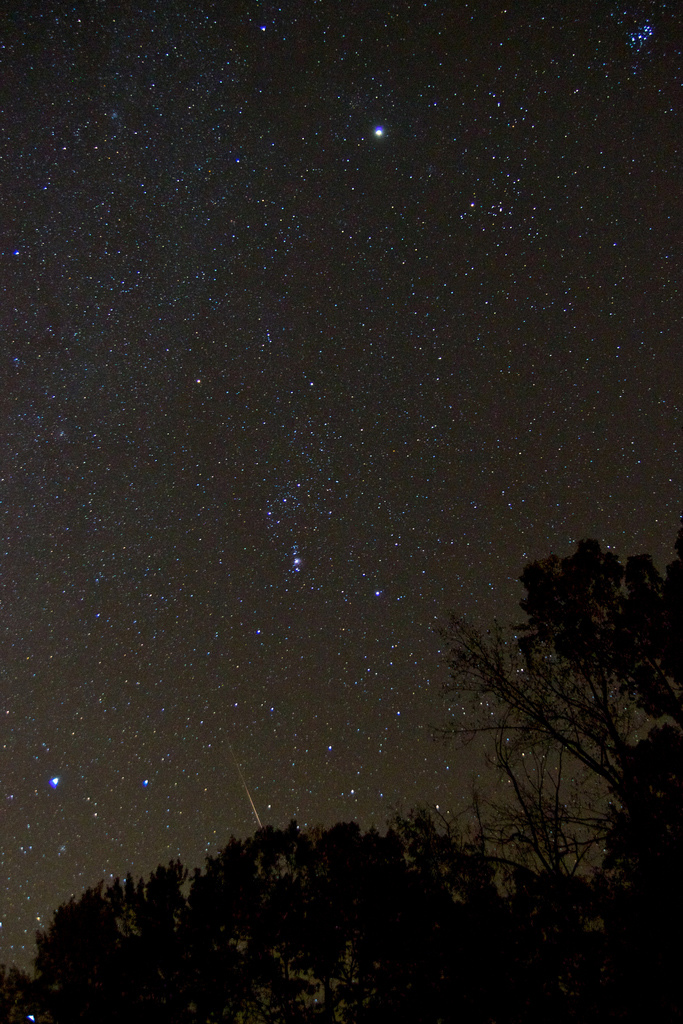 2012 Orionid Meteor Over Louisa, VA