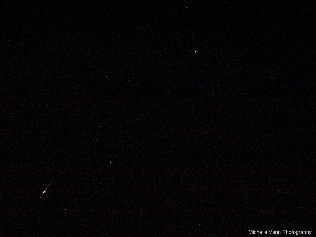 2012 Orionid Meteor Over Hatteras, NC