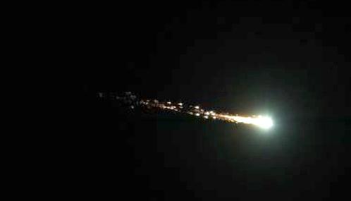 Oct. 17 Fireball