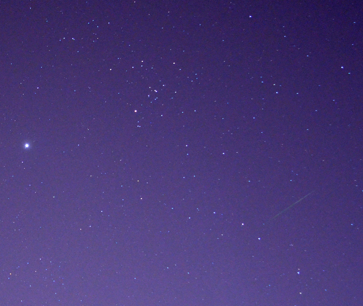 2012 Orionid Over Las Vegas, NV
