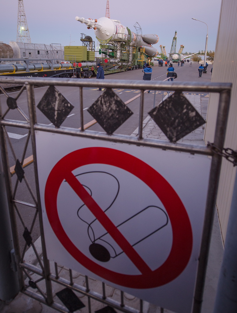 No Smoking for Soyuz Rocket Launch