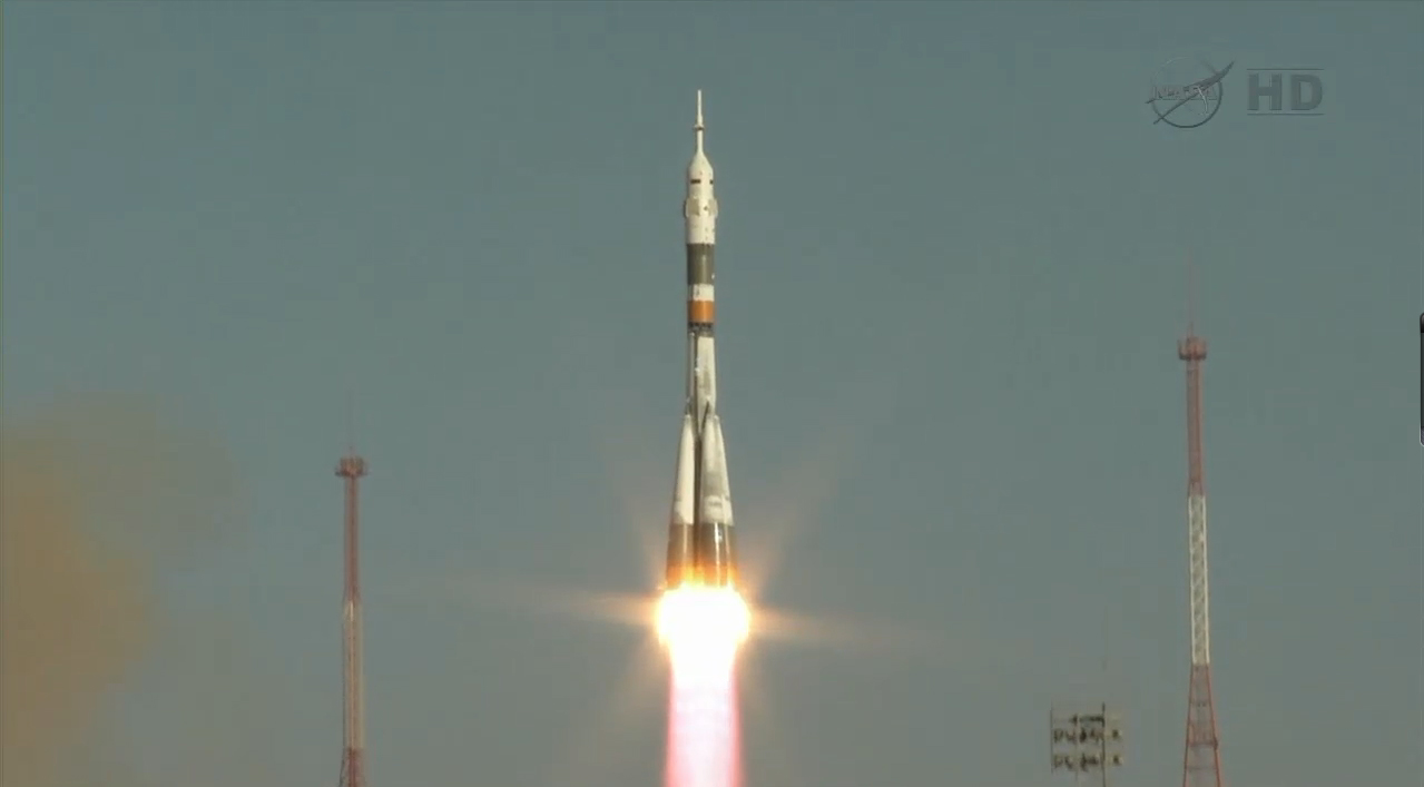 Liftoff! Soyuz Rocket Launches Expedition 33/34 Crew