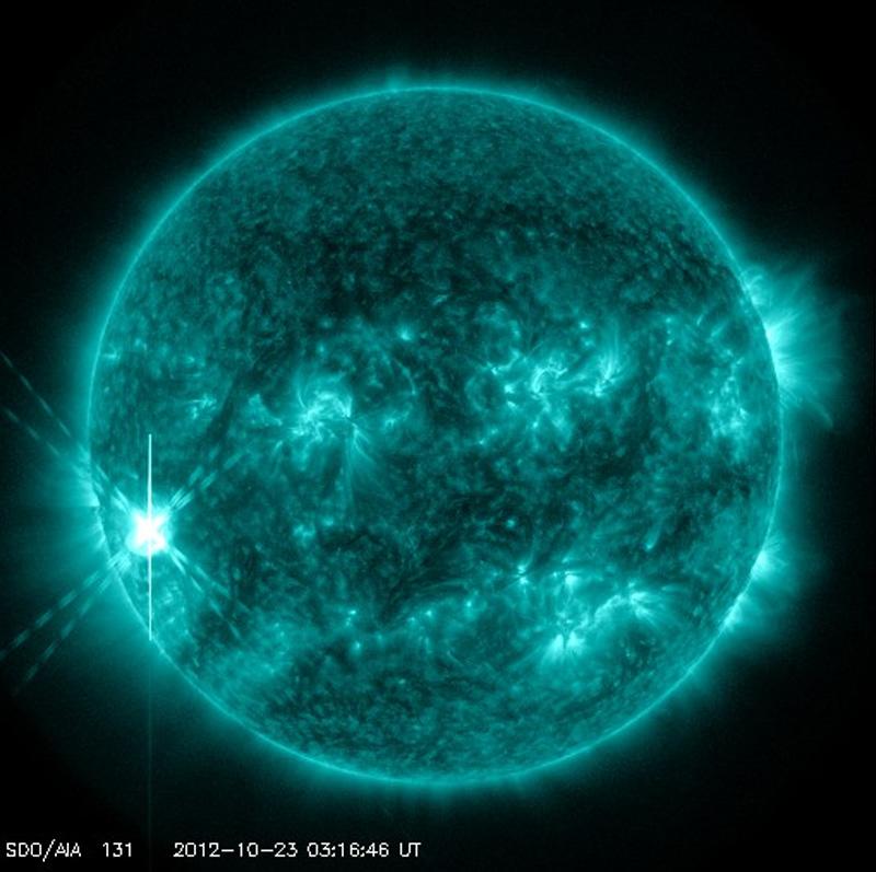 Oct. 22 Solar Flare