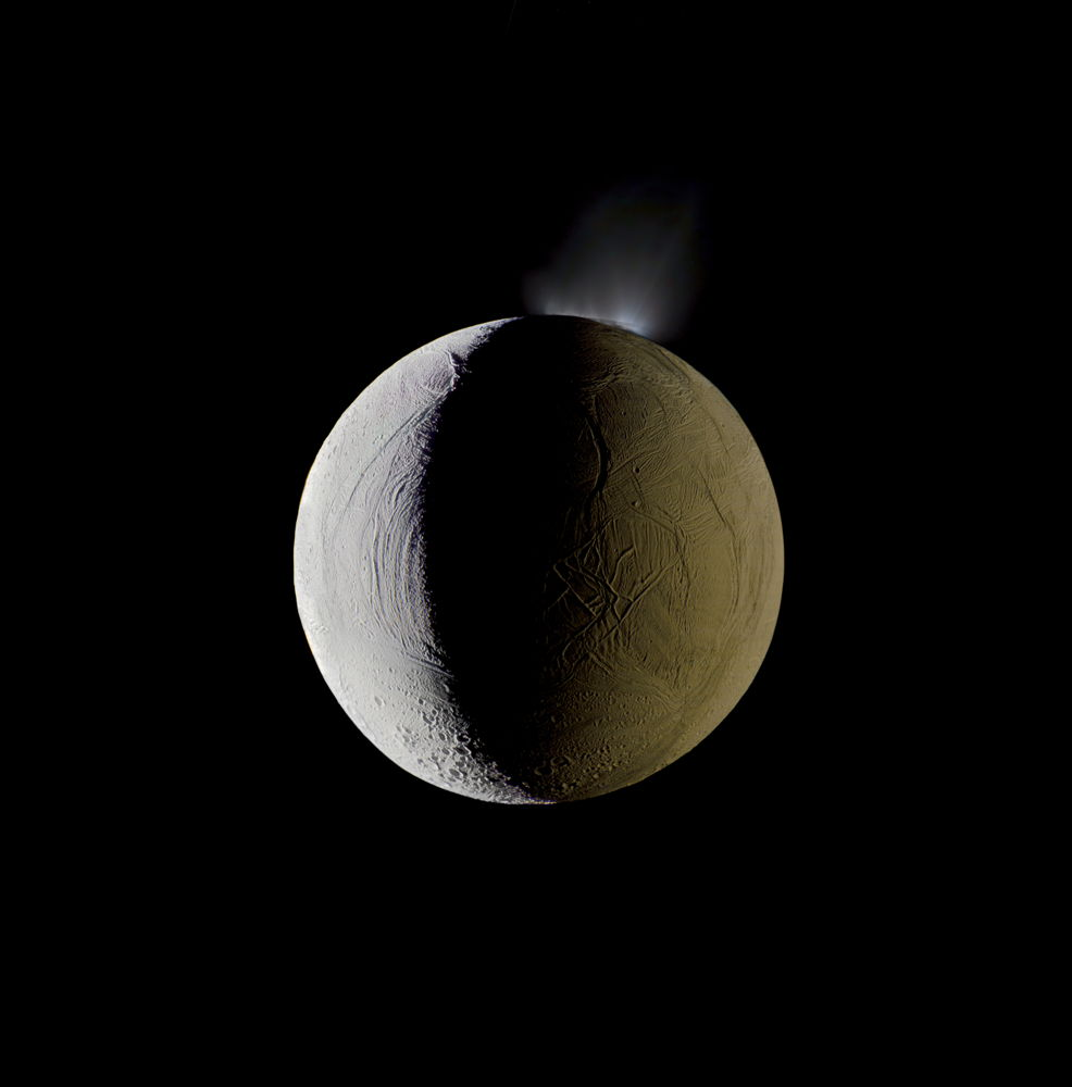 Planetfall: Enceladus Vents Water