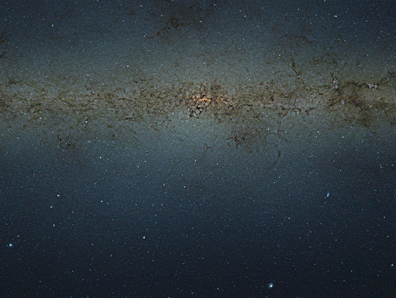 The Milky Way's Core (Photos)