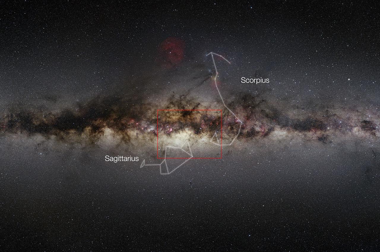 VISTA Telescope's View of Milky Way's Center