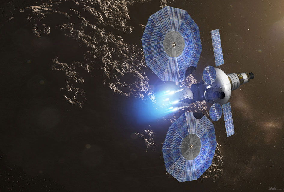 Advanced Solar Array Under Development for Future NASA Spacecraft