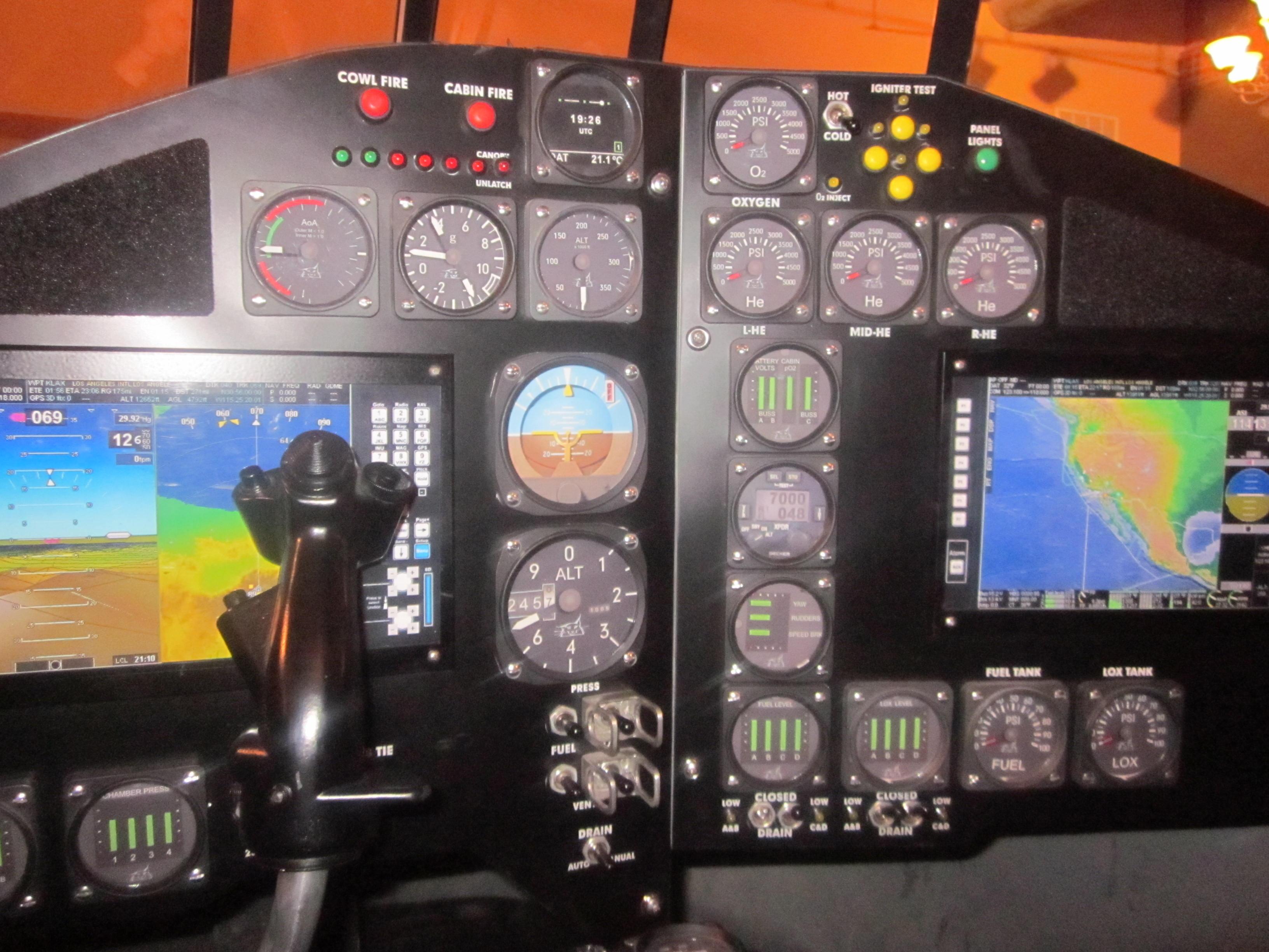 Lynx Cockpit
