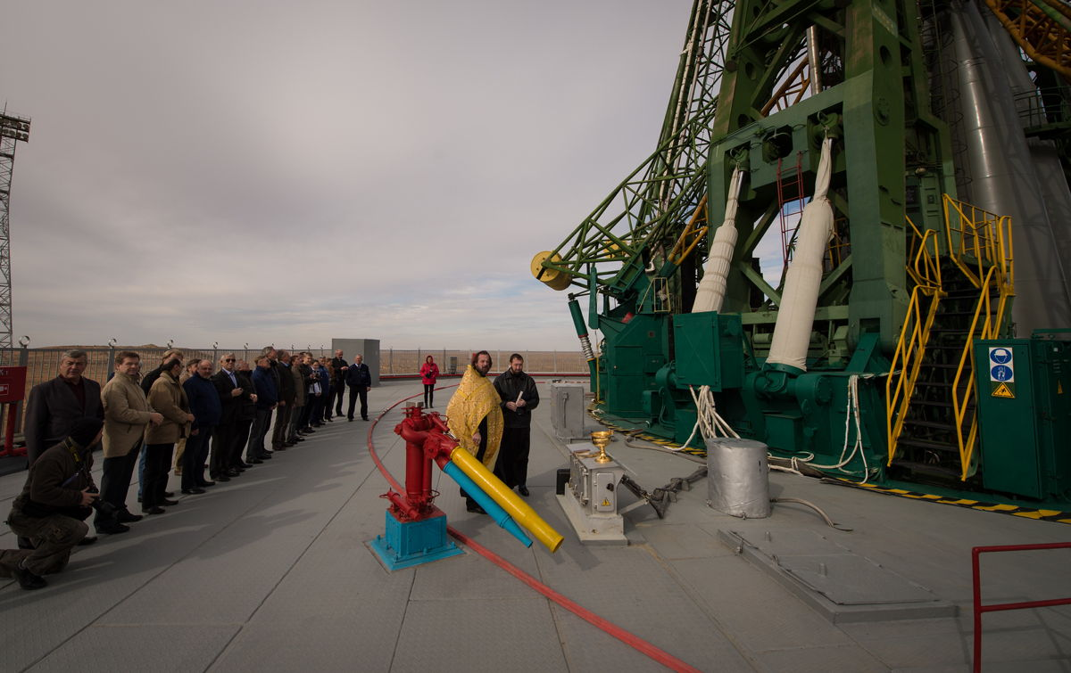 Expedition 33 Soyuz Blessing
