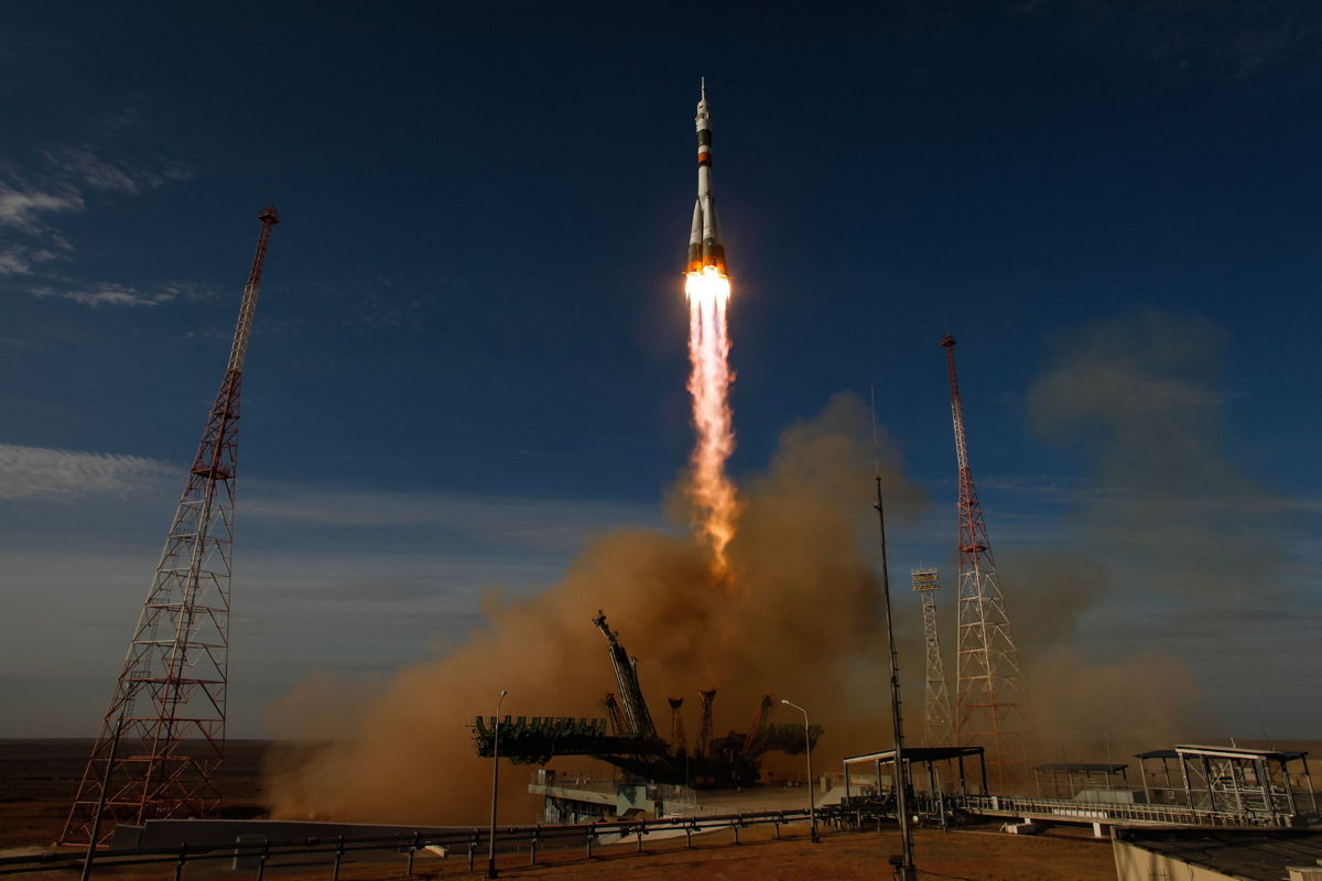 Expedition 33 Soyuz Launch #3