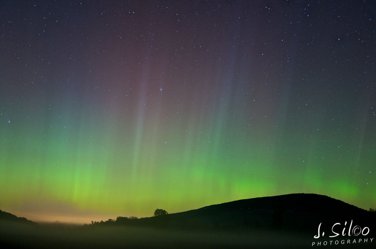 Auroras Over the Finger Lakes, NY