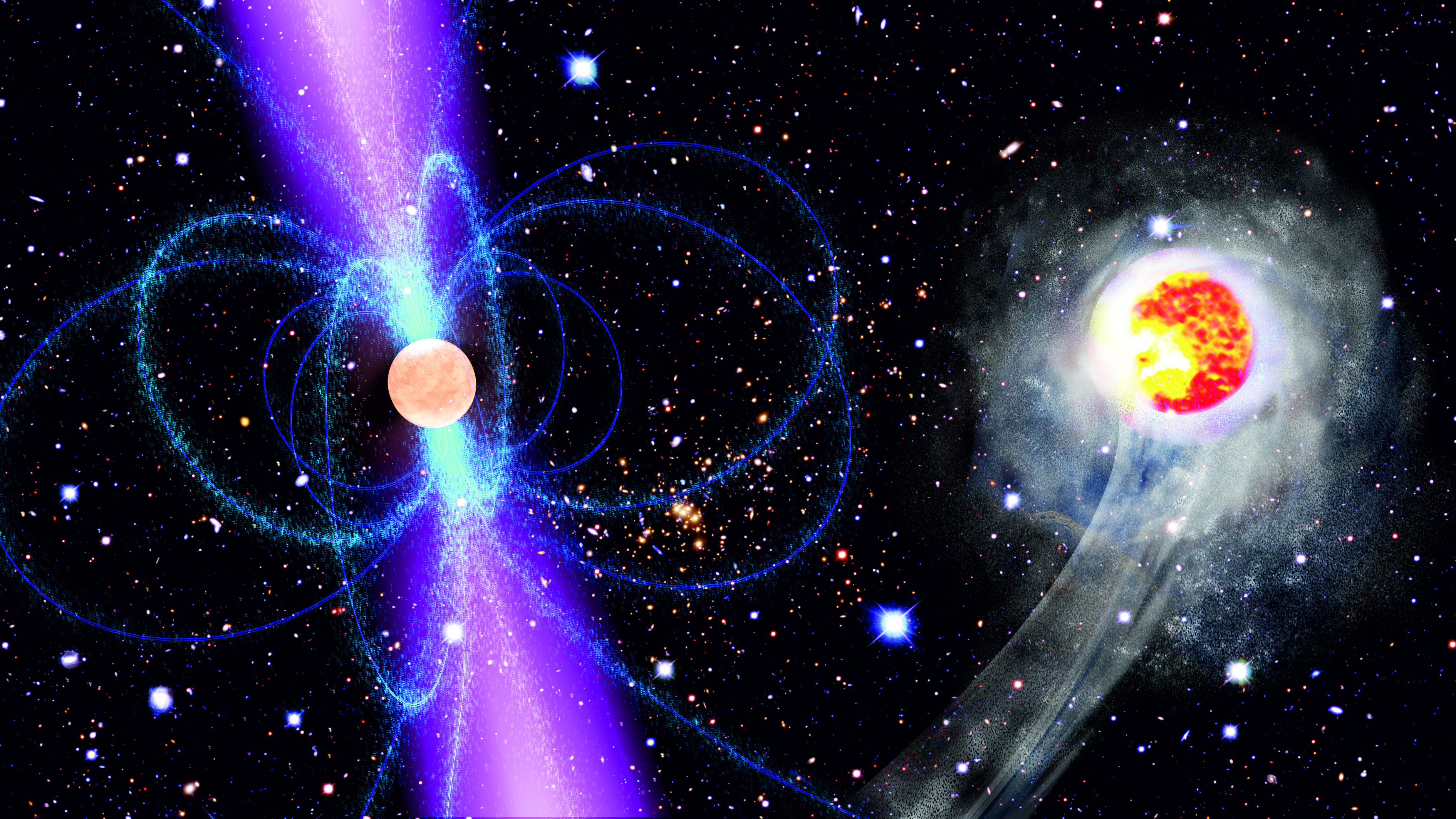 Super-Dense Neutron Star Is Fastest Ever Seen