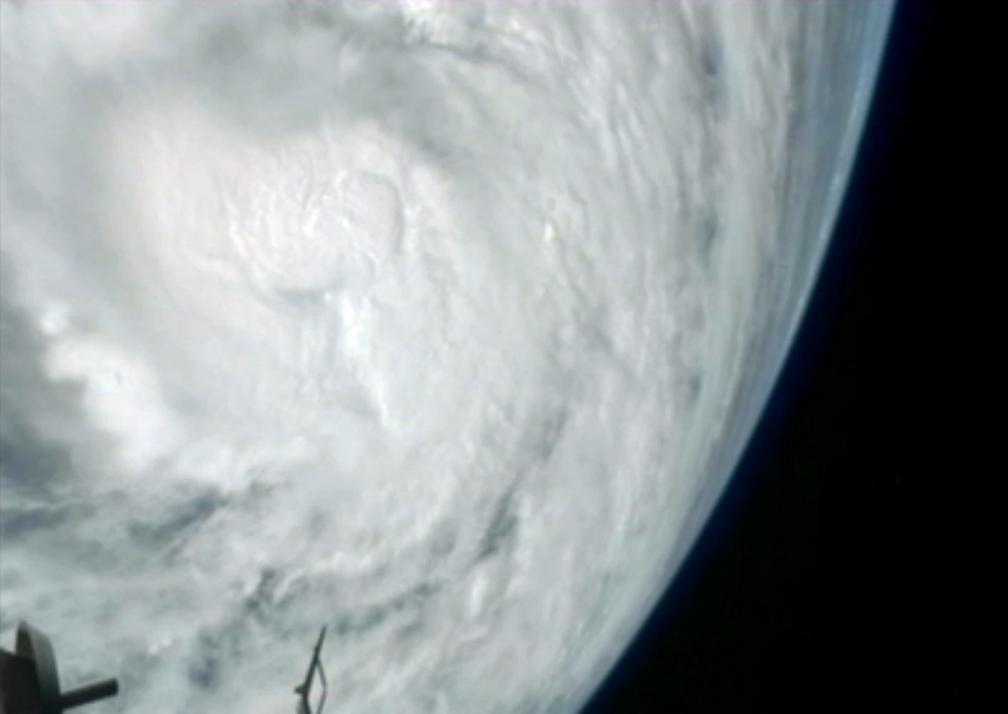 'Frankenstorm': Hurricane Sandy Seen From Space Station in NASA Video