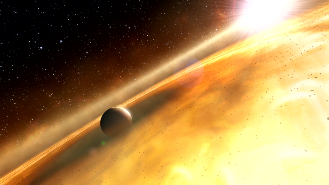 Huge 'Zombie' Alien Planet Rises from the Dead