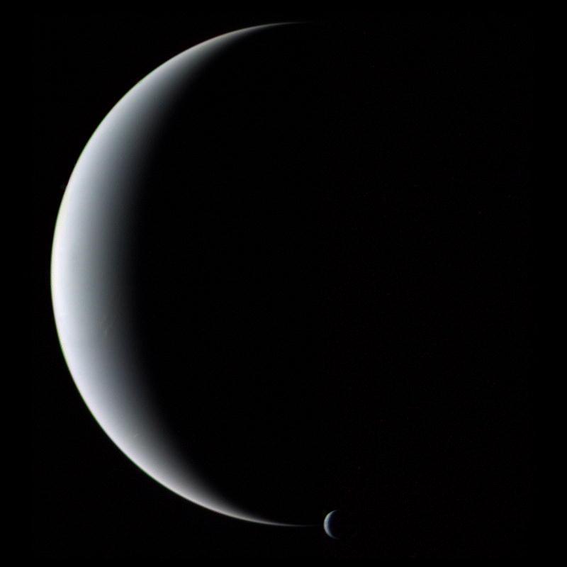 Triton: Neptune's Odd Moon