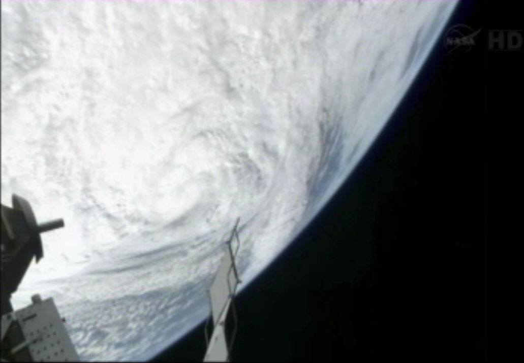 Hurricane Sandy from the International Space Station