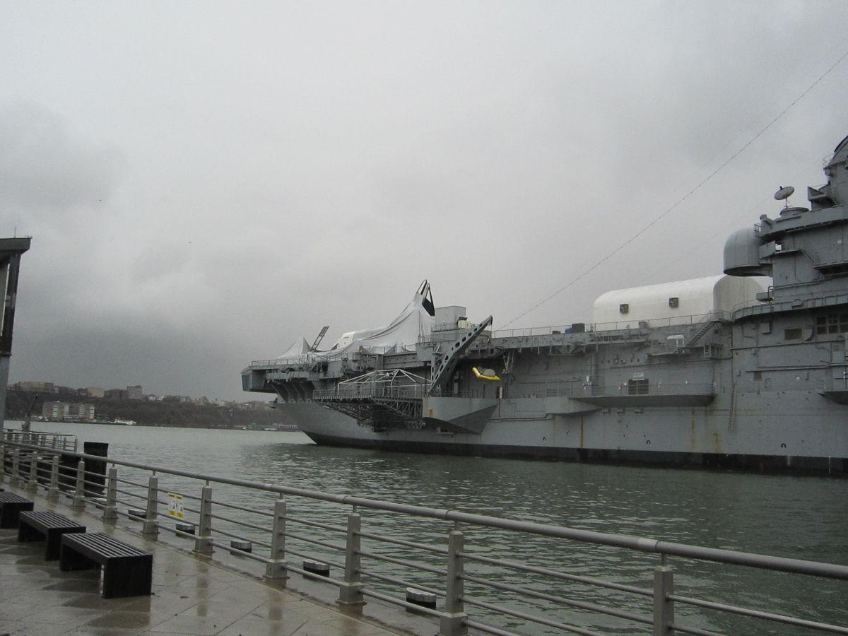 Space Shuttle Enterprise Damaged by Hurricane Sandy