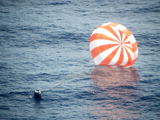 Private SpaceX Capsule Lands After Historic Mission to Space Station